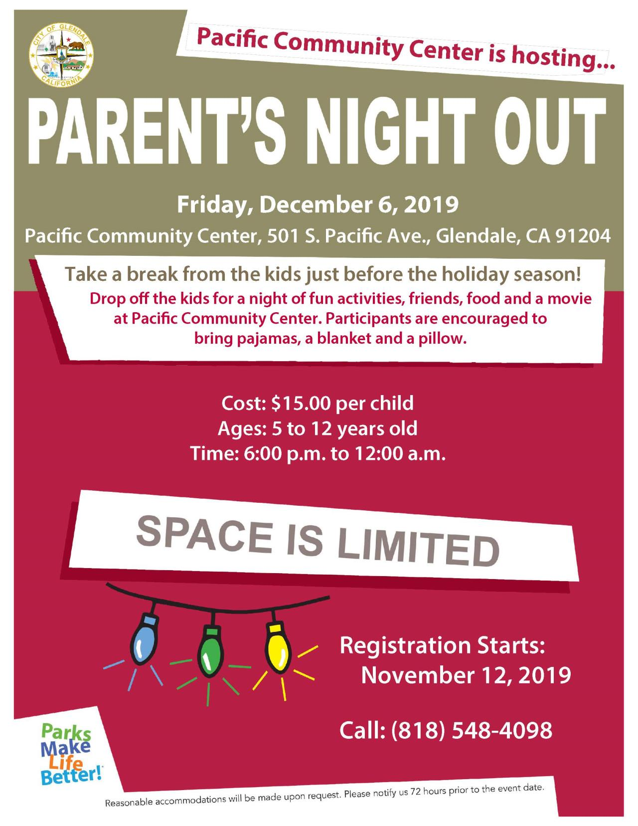 PNO Flyer for 12-6-19